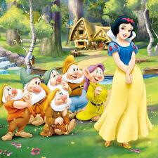 Disney Snow White and The 7 Dwarfs (4) B/W Cross Stitch Chart