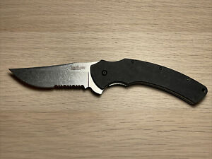 Kershaw Tremor Partially Serrated 1950ST Folding Knife