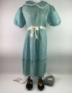 The Shining Grady Twin Sisters Womens One Size Includes Shoes Wig Socks Costume