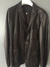 Richmond Leather Mens Leather Jacket Rrp £2250 Size M (Dsquared Interest)D&G