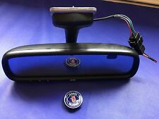 Saab 9-3 9-5 Rear View Mirror Compass Auto Dimming HOME LINK TESTED