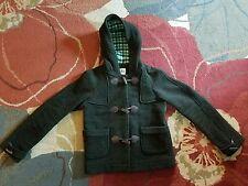 Lacoste Womens Wool Blend Coat Toggle 36 US SM  6/8 dark Green