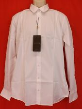 NWT GUCCI WHITE  POPELINE PIECE COTTON CLASSIC DRESS SHIRT 16.5 42 #333759 ITALY