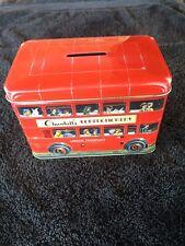 vintage tin money box