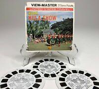 Vintage KODAK HULA SHOW 3D View-Master Reel Pack A122 Waikiki Hawaii US Travel