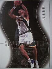 2003-04 SP AUTHENTIC RASHARD LEWIS # 119  SONICS !!! BOX # 33