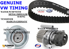 New GENUINE VOLKSWAGEN VW 2.0 Beetle Jetta Golf Timing Belt Kit Tensioner Pump