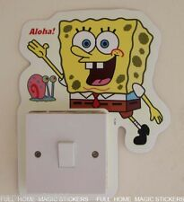 Wall Switch Sticker SpongeBob Squarepants Kids Room