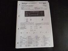 Original Service Manual Blaupunkt Autoradio Baden Baden Mono