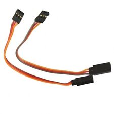 US SELLER: (2) 300mm 3 Pin Servo Extension Cables