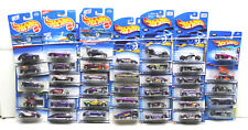 35 pc Hot Wheels Purple Car Van Coupe Racer Truck Assortment Die Cast Lot NOC