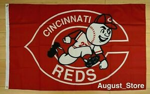 Cincinnati Reds 3x5 ft Flag Banner MLB