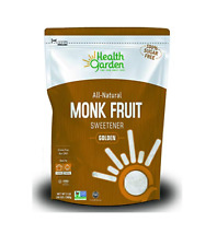 Health Garden Monk Fruit Sweetener, Golden- Non GMO - Gluten Free (3 lbs)