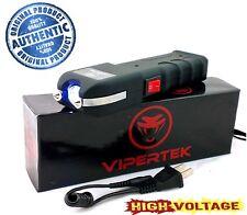 VIPERTEK VTS-989 - 999 MV Rechargeable LED Light Police Stun Gun