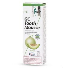 GC TOOTH MOUSSE MELON TOPICAL TOOTH CREAM WITH RECALDENT 1 TUBE OF 40 GM