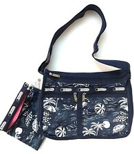LeSportsac Deluxe Everyday Crossbody + Cosmetic Bag NWT