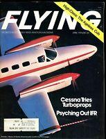Flying Magazine April 1976 Cessna Turboprops EX w/ML 120316jhe