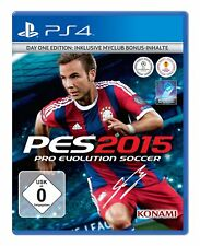 PRO EVOLUTION SOCCER 2015 - DAY 1 - EDITION PS4 PlayStation 4 PES 2015