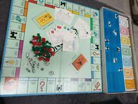 Monopoly USA American Version 1985 Parker Bros Rare Complete