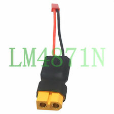 Male Female XT60 Connector Adapter JST in-line power Lipo battery FPV LED Lights