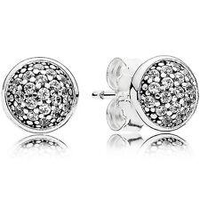 PANDORA Ohrstecker Ohrringe Earrings 290726 CZ Silber