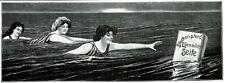 Steckenpferd Lilly milk soap 1909 ad swimwear swimsuit fashion advertising