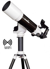 "Skywatcher Startravel-102 AZ-GTE 102mm 4"" F/4.9 WiFi GO-TO Refractor Telescope"