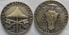 Vaticano medaglia in argento sede vacante 1963