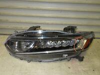 2018-2019-2020 Honda Accord Sedan Headlight OEM Left Driver Complete Tested LED