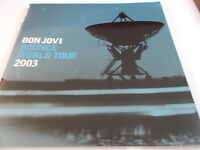 BONJOVI BOUNCE WORLD TOUR PROGRAMME 2003