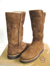 UGG COLLECTION ABREE SUEDE WOMEN TALL BOOTS BUNO US 10 /UK 8.5 /EU 41