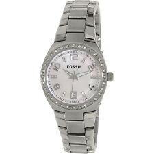 Fossil Women's Flash AM4141 Silver Stainless-Steel Analog Quartz Fashion Watch