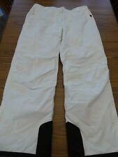 Eastern Mountain Sports Women's XL White Skiing Snow Snowboarding Insulated Pant