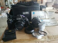 Minolta Maxxum 7000 35mm AF Film SLR Camera with Lens and Accessories