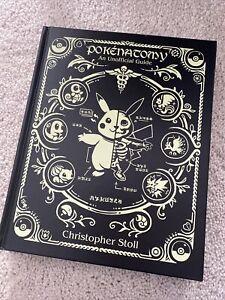 Pokenatomy Unofficial Pokemon Anatomy Guide Book Chris Stoll Hardcover RARE