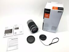 Sony SEL 55-210mm f/4.5-6.3 OSS Lens Zoom E-Mount (Silver) Excellent Used