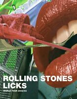 ROLLING STONES 2003 FORTY LICKS TOUR CONCERT PROGRAM BOOK-NEAR MINT TO MINT