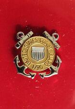 Uscg Us Coast Guard Reduced Size E-1 Thru E-3 Enlisted Ranks Garrison Cap Badge