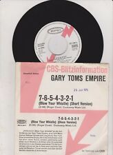 GARY TOMS EMPIRE 7-6-5-4-3-2-1 45/GER/PROMO