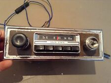 Vintage Kraco Am- Push Button Radio Model #KR-1110 Used, Original Solid State