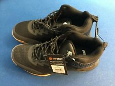 Men's athletic shoes (AND1 Back Court) mesh upper, comfort padded insole,  black