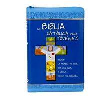 Biblia Catolica Para Jovenes MEDIANA Con Protector De Cierre Integrado y Uñeros