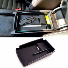 Car Center Console Armrest Secondary Storage Box Tray Fit For VW Passat CC B6 B7