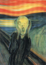 The Scream - Edvard Munch - 3D Lenticular Postcard Gfit Greeting Card
