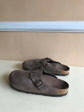 BIRKENSTOCK: Boston Oiled Leather Clogs
