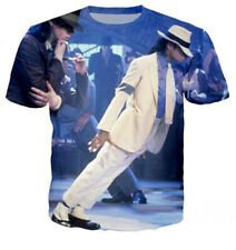 Michael Jackson Singer 3D Print Casual T-Shirt Short Sleeve Women Men Tee Tops
