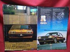 XD XE XF OWNERS DEALERS ADVERTISING PAPERWORK FORD FALCON ESP GHIA FAIRMONT B50