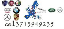 Cartografia EUROPA Map Navigatore Lancia Peugeout Nissan Citroen Jaguar Audi Bmw