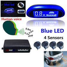 Car Parking Sensor System+ 4 Sensors  Backup Reverse Rear Radar Alert Alarm Kit