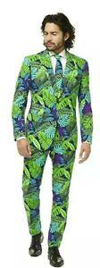 Oppo Suits Juicy Jungle 3 Piece Ugly Loud Party Suit UK 50